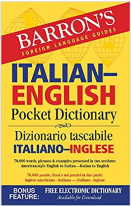 Barron Italian-English Pocket Dictionary